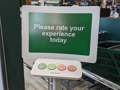 Retailer Tracks Customer Happiness