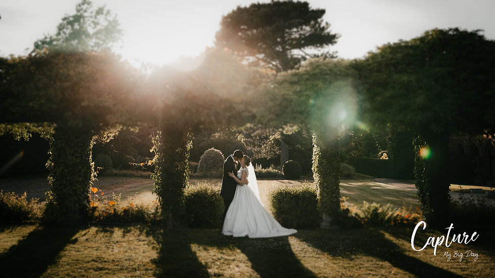 Bride and Groom Thornton Manor