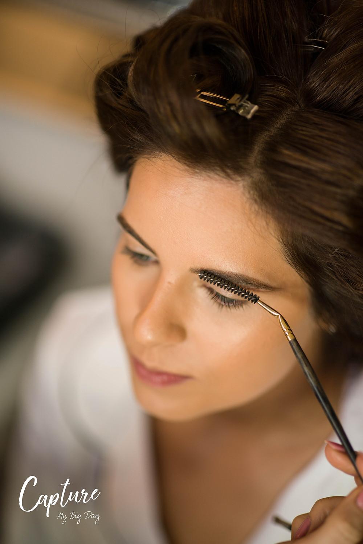 Brides eyebrows