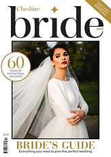 Cheshire Brides magazine front cover