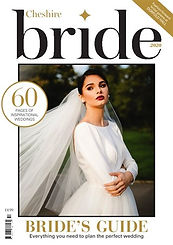 Cheshire Brides magazine front cover
