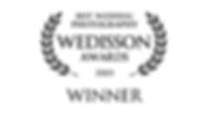 Wedisson Award winner 2019 badge