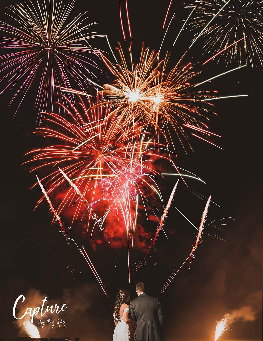 Fireworks Wrenbury Hall