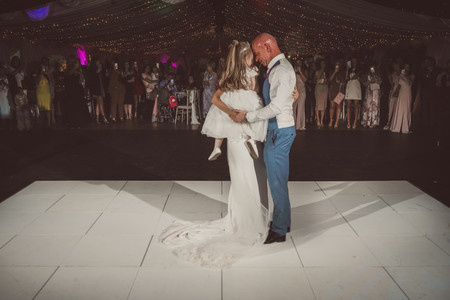 First dance at lakeside