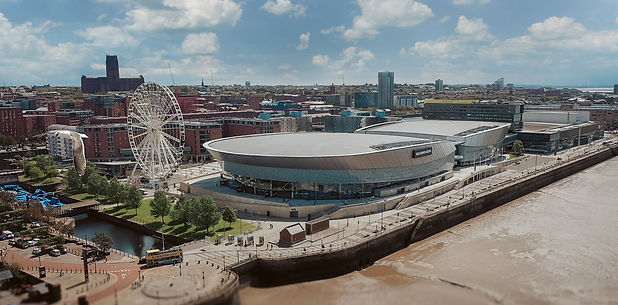 Liverpool Drone image