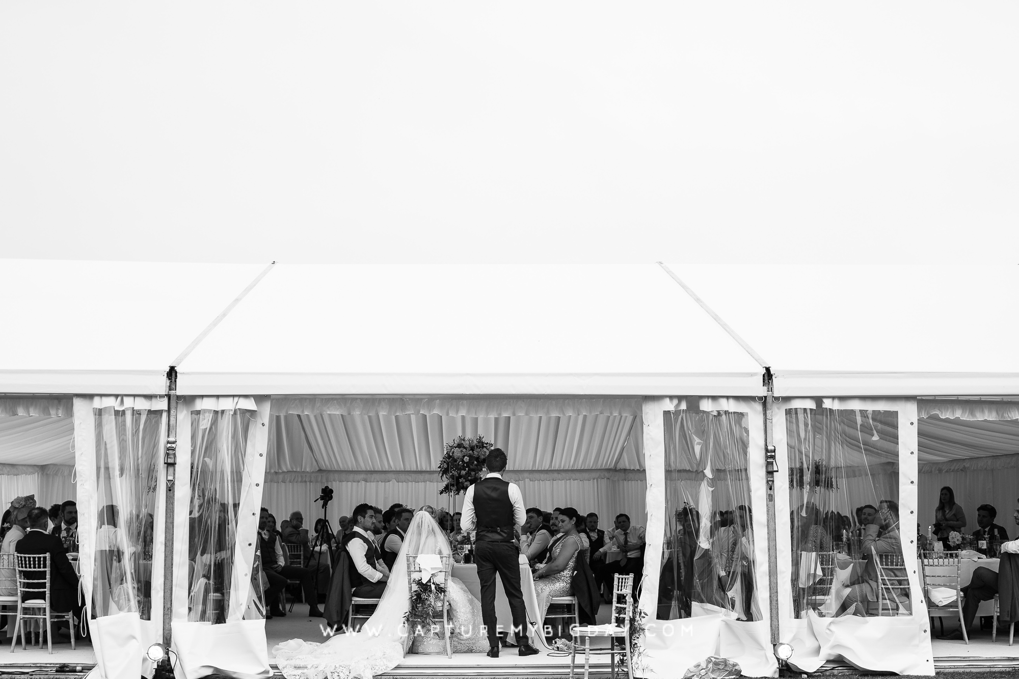Marquee at capesthorne hall