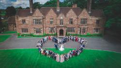 Wrenbury Hall drone
