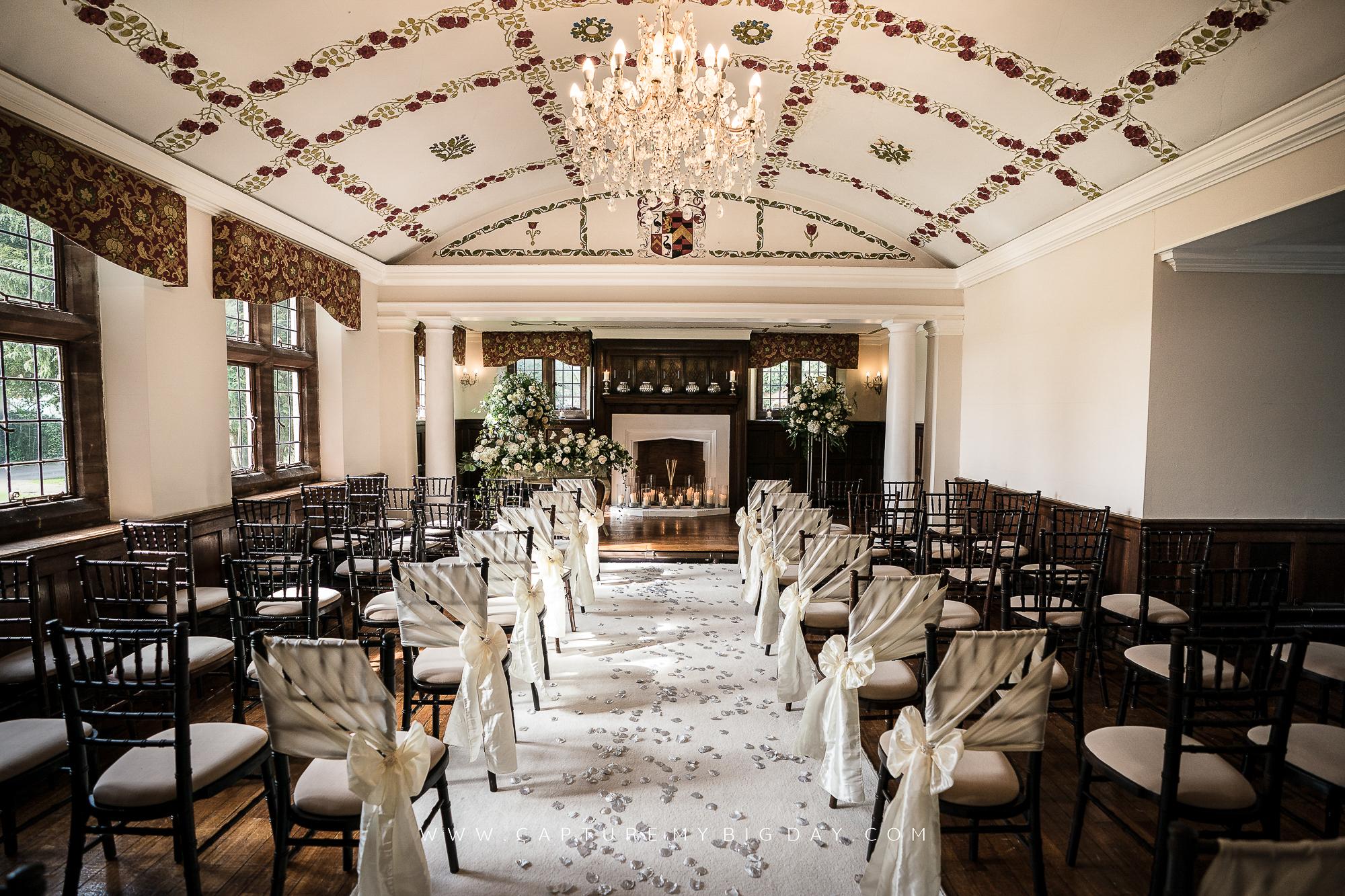 Wrenbury Hall Oak Room