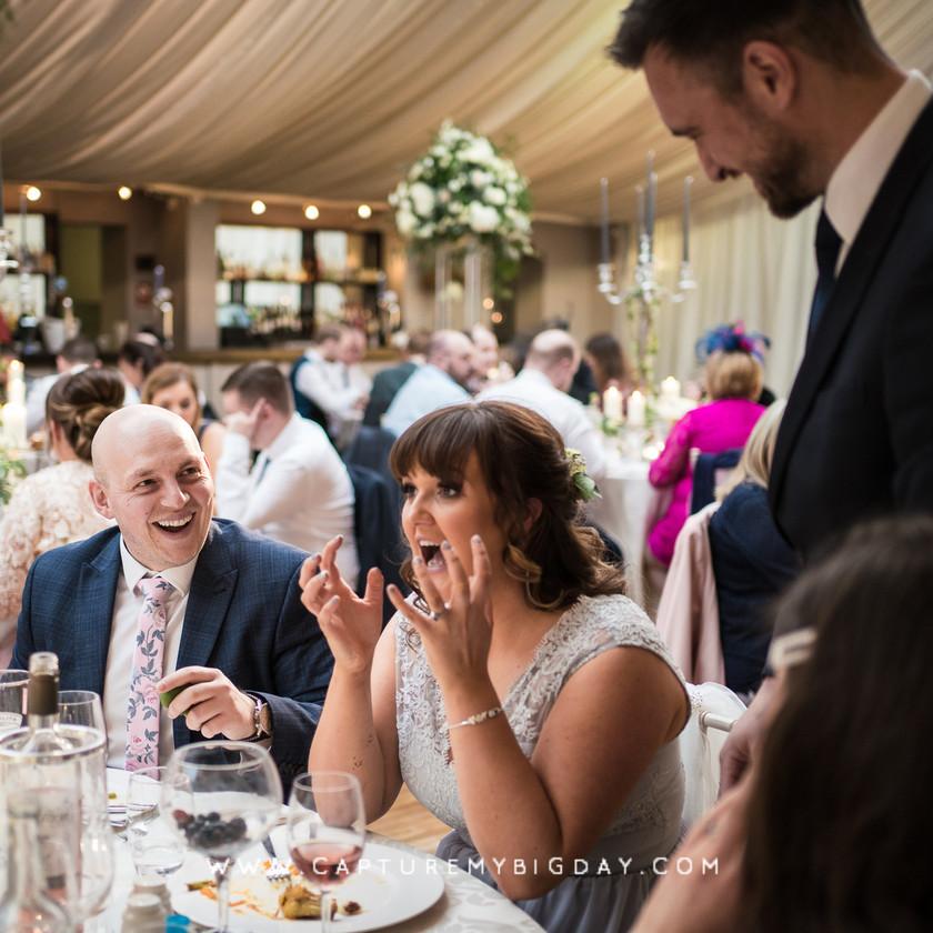 magician at wedding
