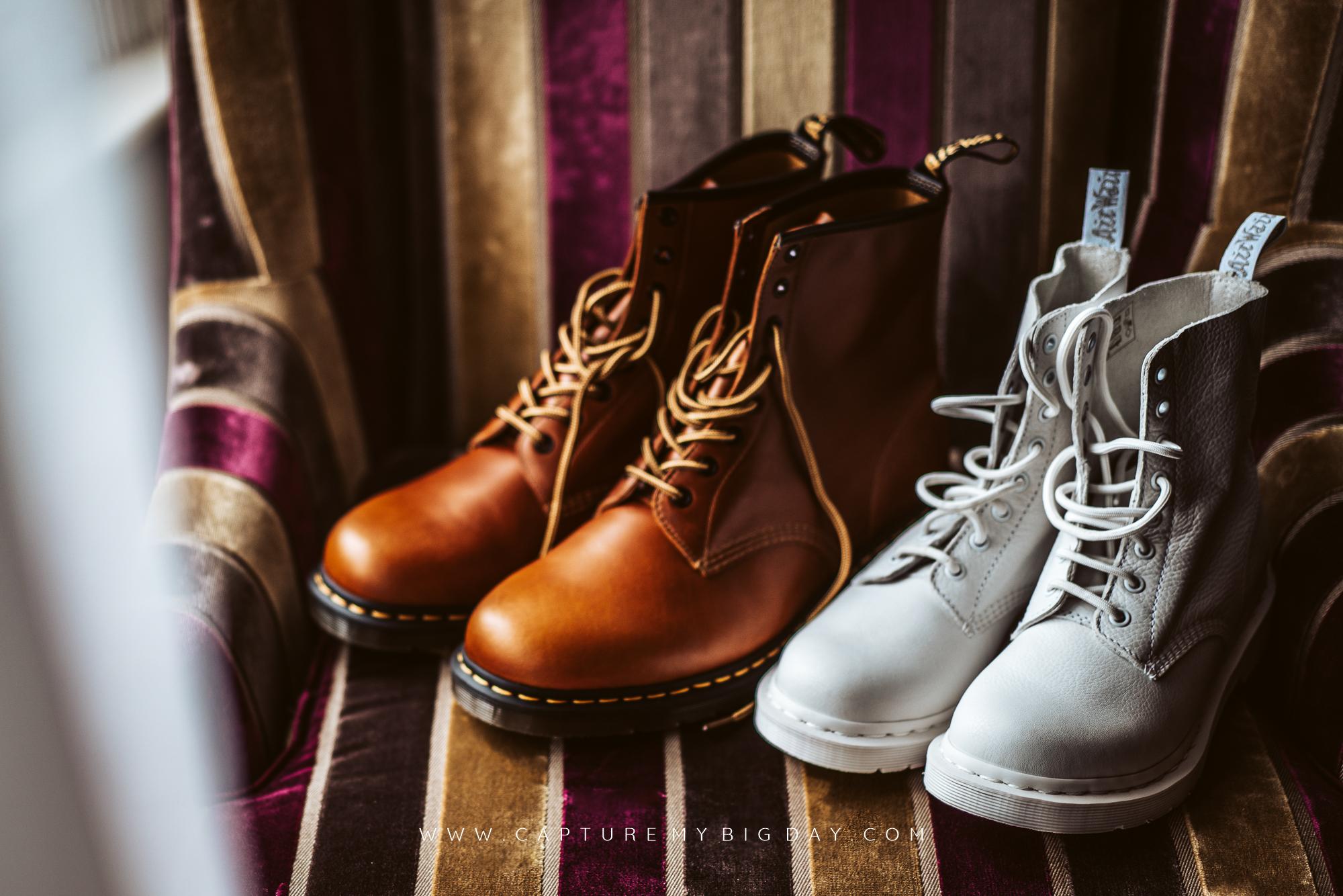 Doc Martin wedding boots