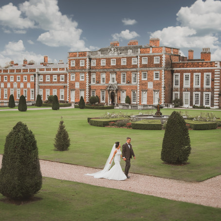 Knowsley Hall Wedding | Jess & Lee