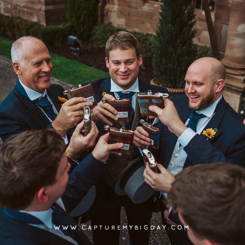 groom before the wedding