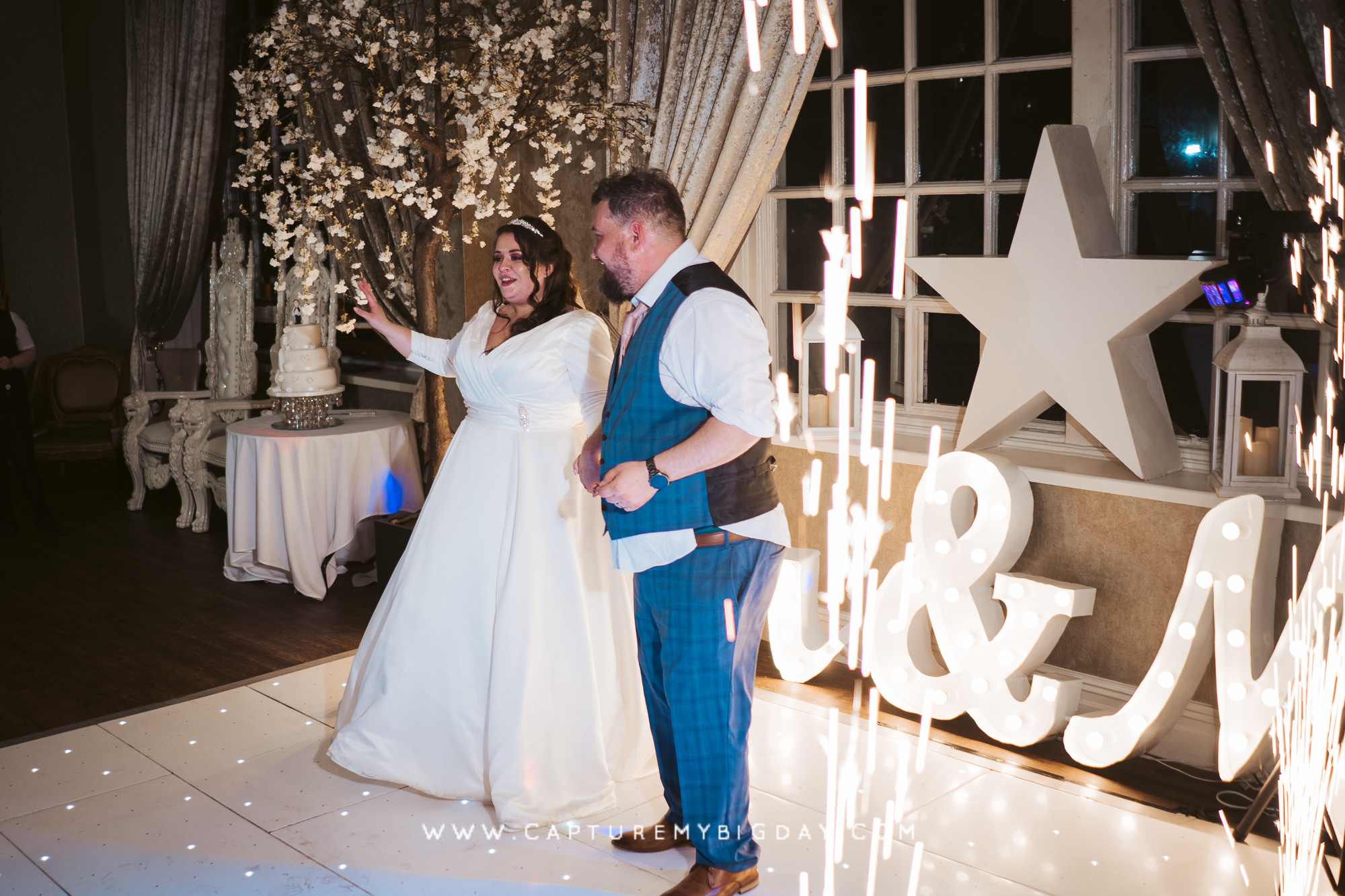 bride and groom first dance at 30 James street