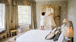 Delamere Manor bridal suite