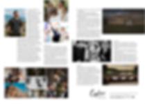 Cheshire Brides magazine layout
