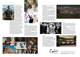 Cheshire Brides magazine layout