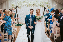 Wrenbury Hall just married