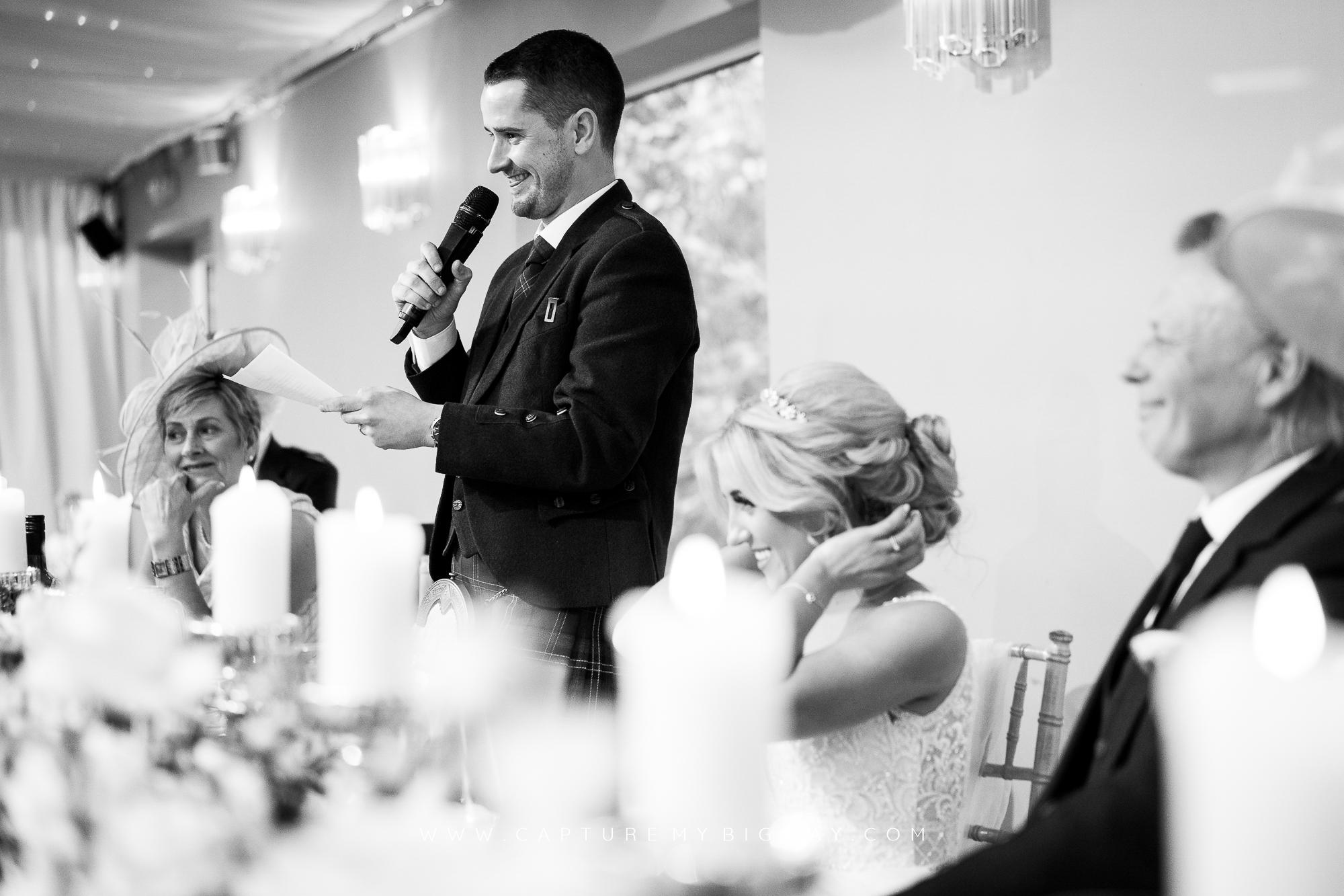 bride at top table