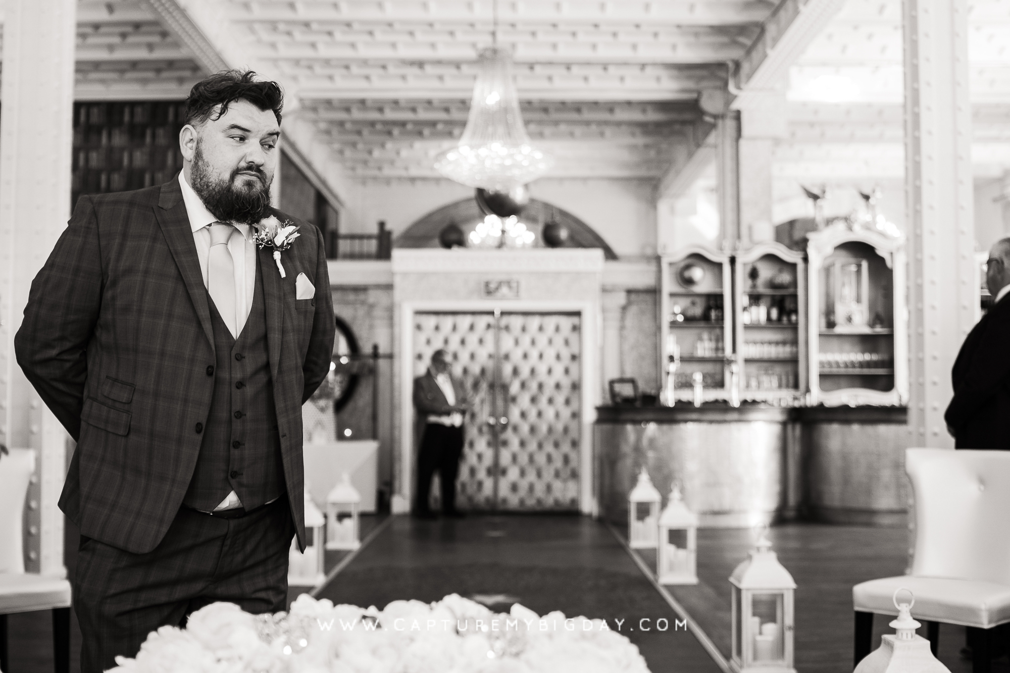 groom waiting at 30 James street