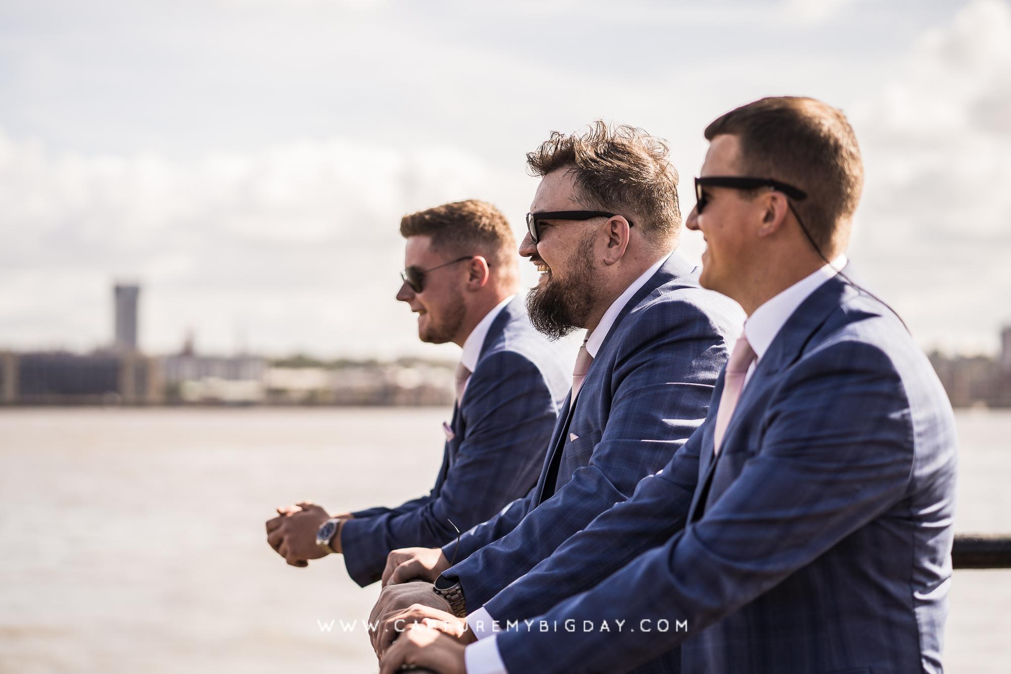 groom men at docks