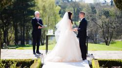 Delamere Manor ceremony