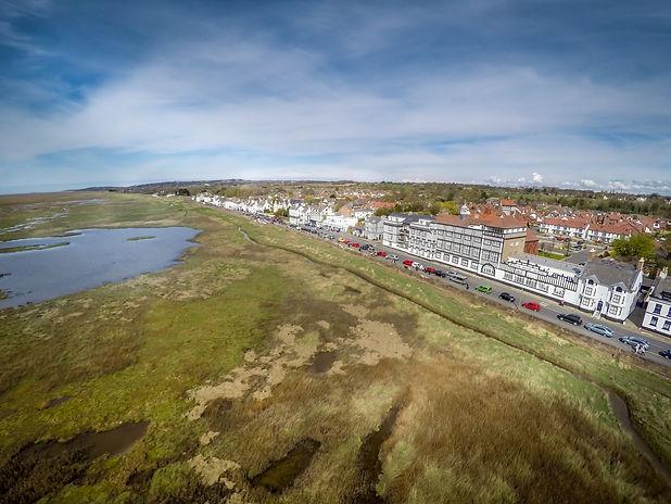 Drone image of Parkgate