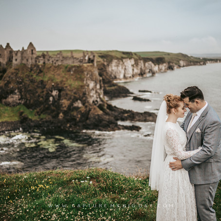 Elopement Wedding Photography & Film in Northern Ireland | Sophie & David