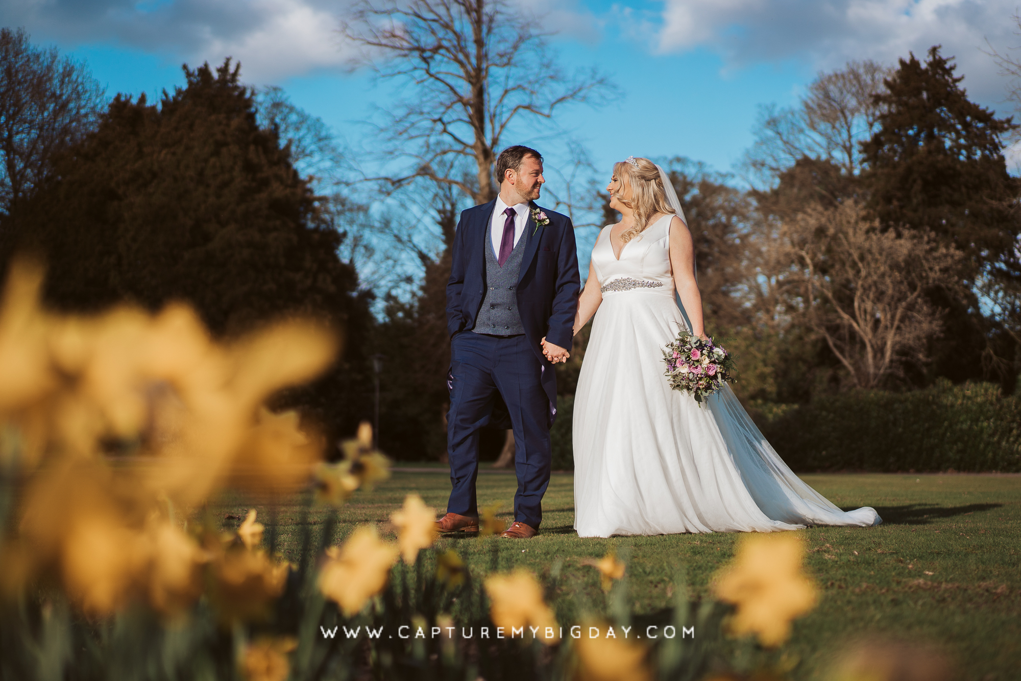 Wrenbury Hall wedding