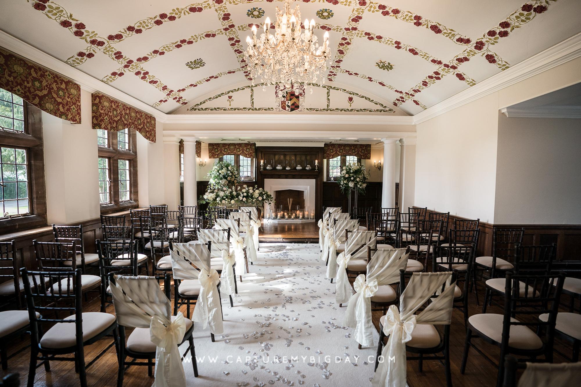 Wrenbury hall ceremony room