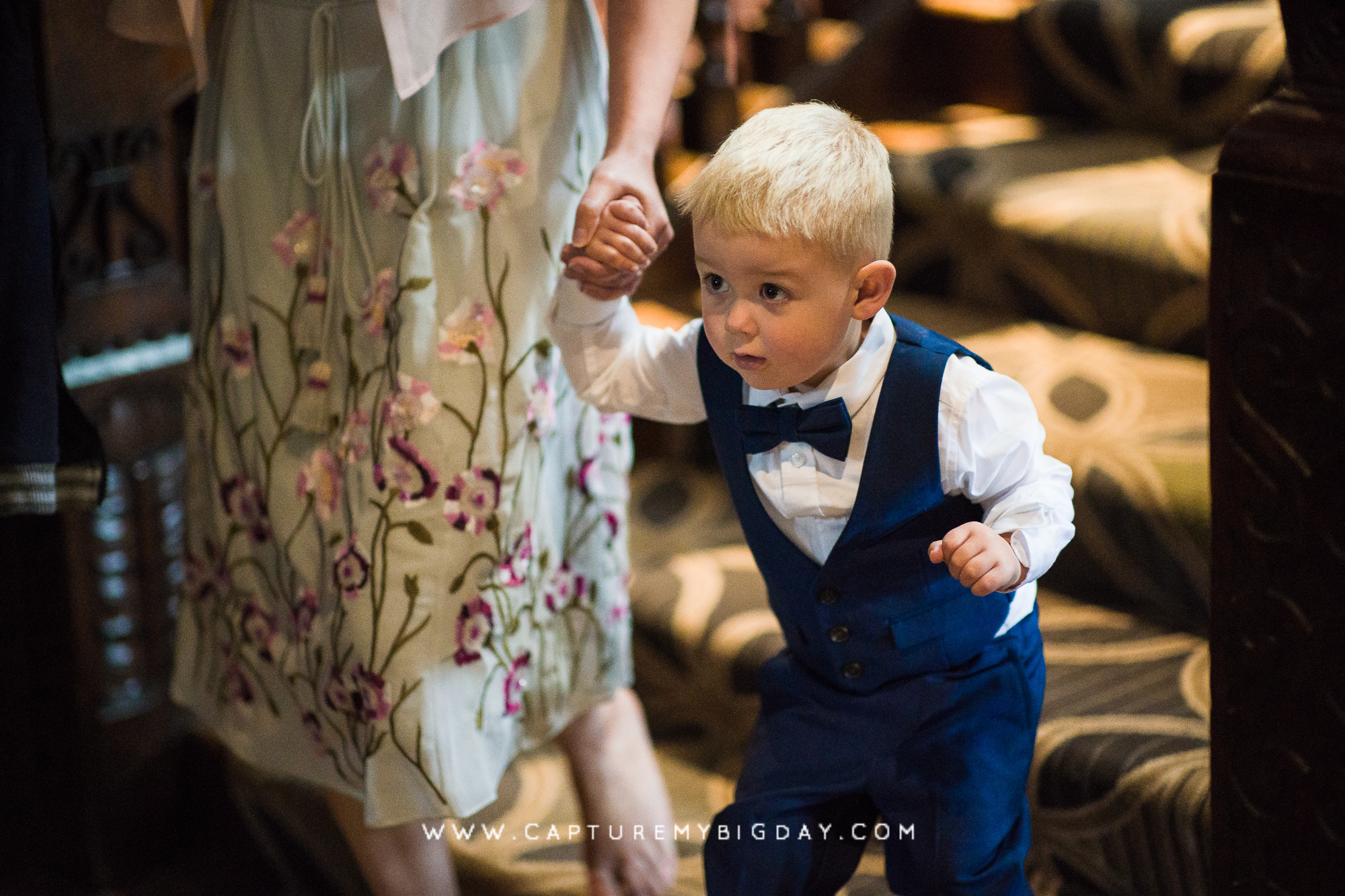 toddler wedding guest