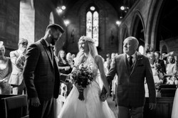 Alcumlow Hall Wedding Barn - Victoria &