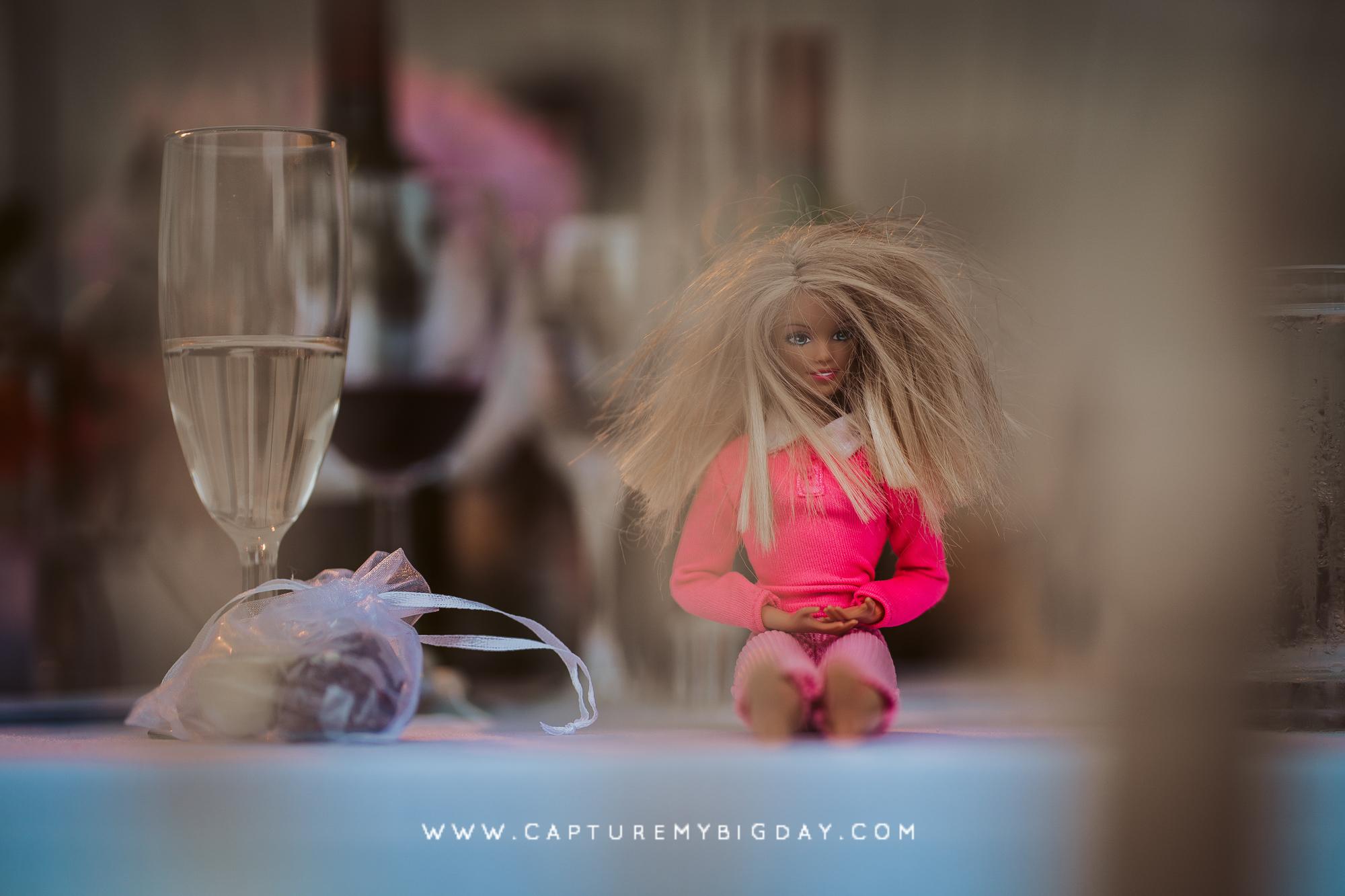 barbie doll at wedding
