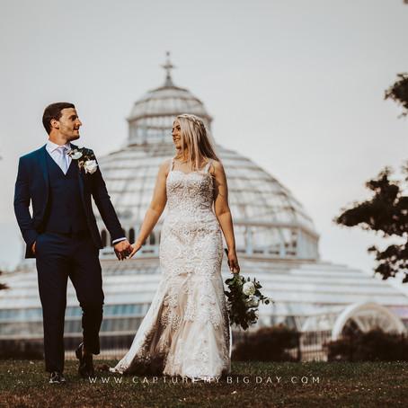 Palm House Sefton Park Wedding | Helen & Max