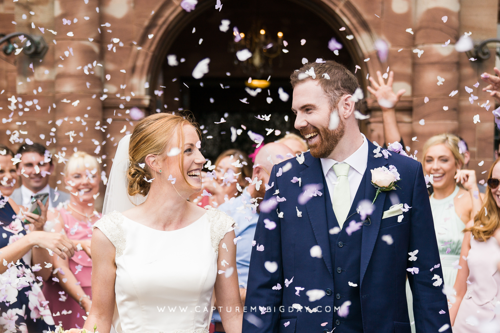 Wrenbury Hall confetti