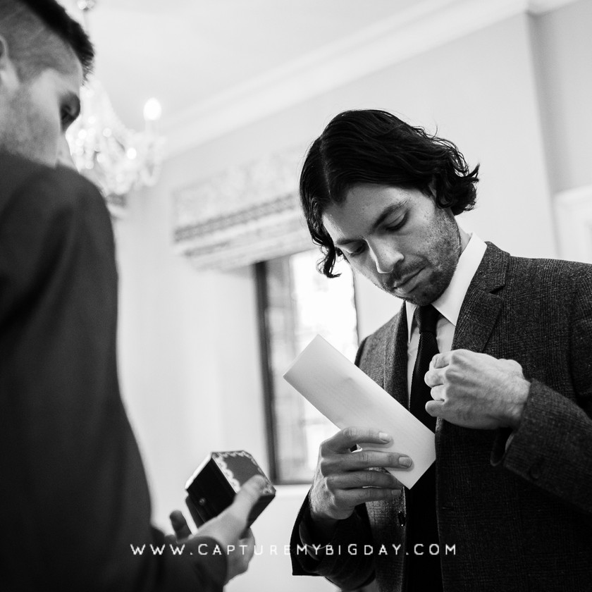 bestman at wedding