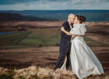 Devonshire Fell Wedding Photos | Claire & Reuben