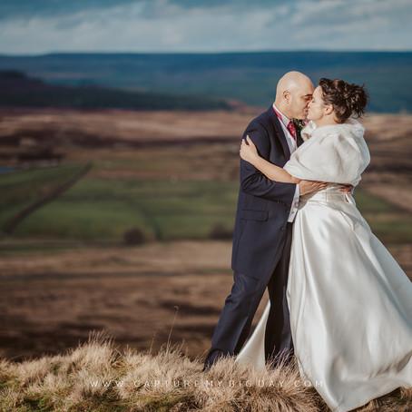 Devonshire Fell Wedding Photos | Claire & Reuben