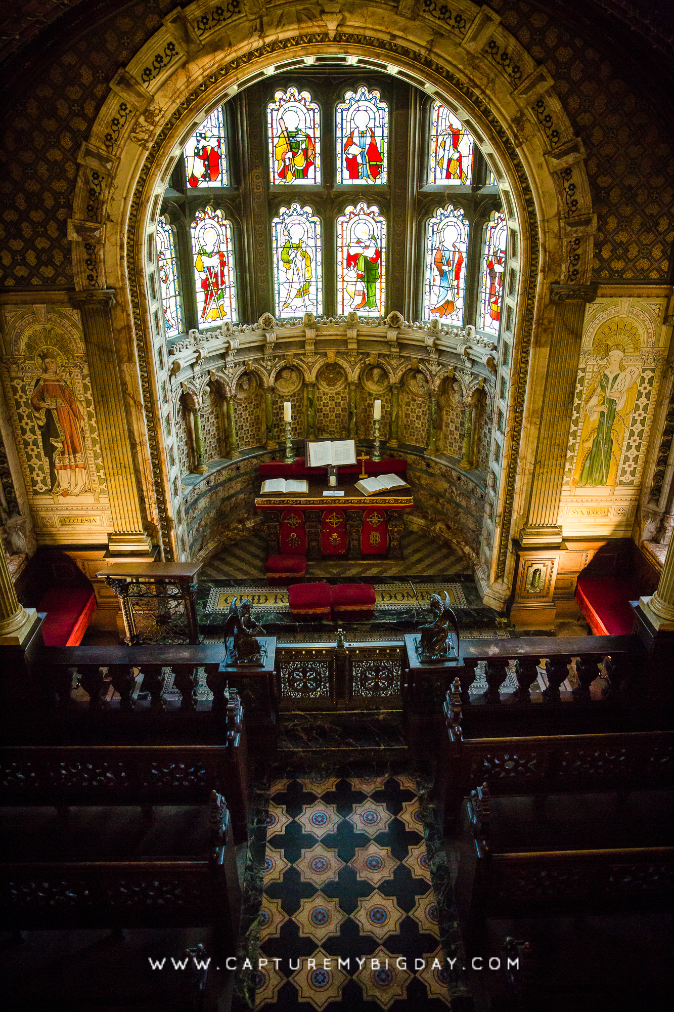 alter at Crewe Hall