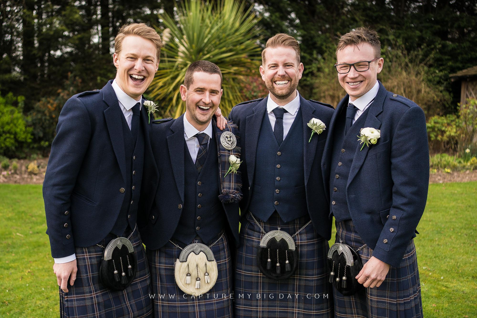 grooms men in photograph