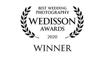 Wedisson Award winner 2020 badge