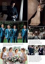 Wedding magazine article