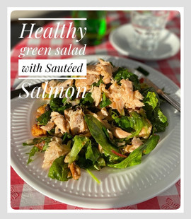 Green Healthy Salad Salmon.JPG
