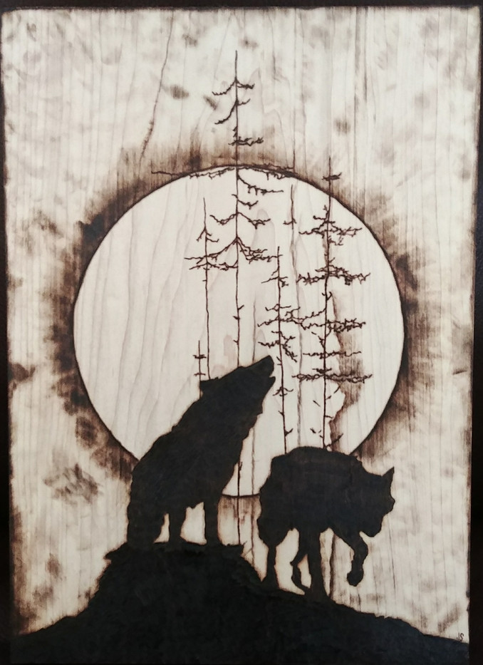 Wolves Under The Moon