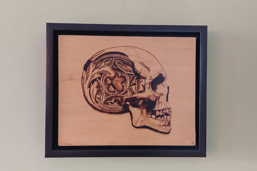 Stonework Skull