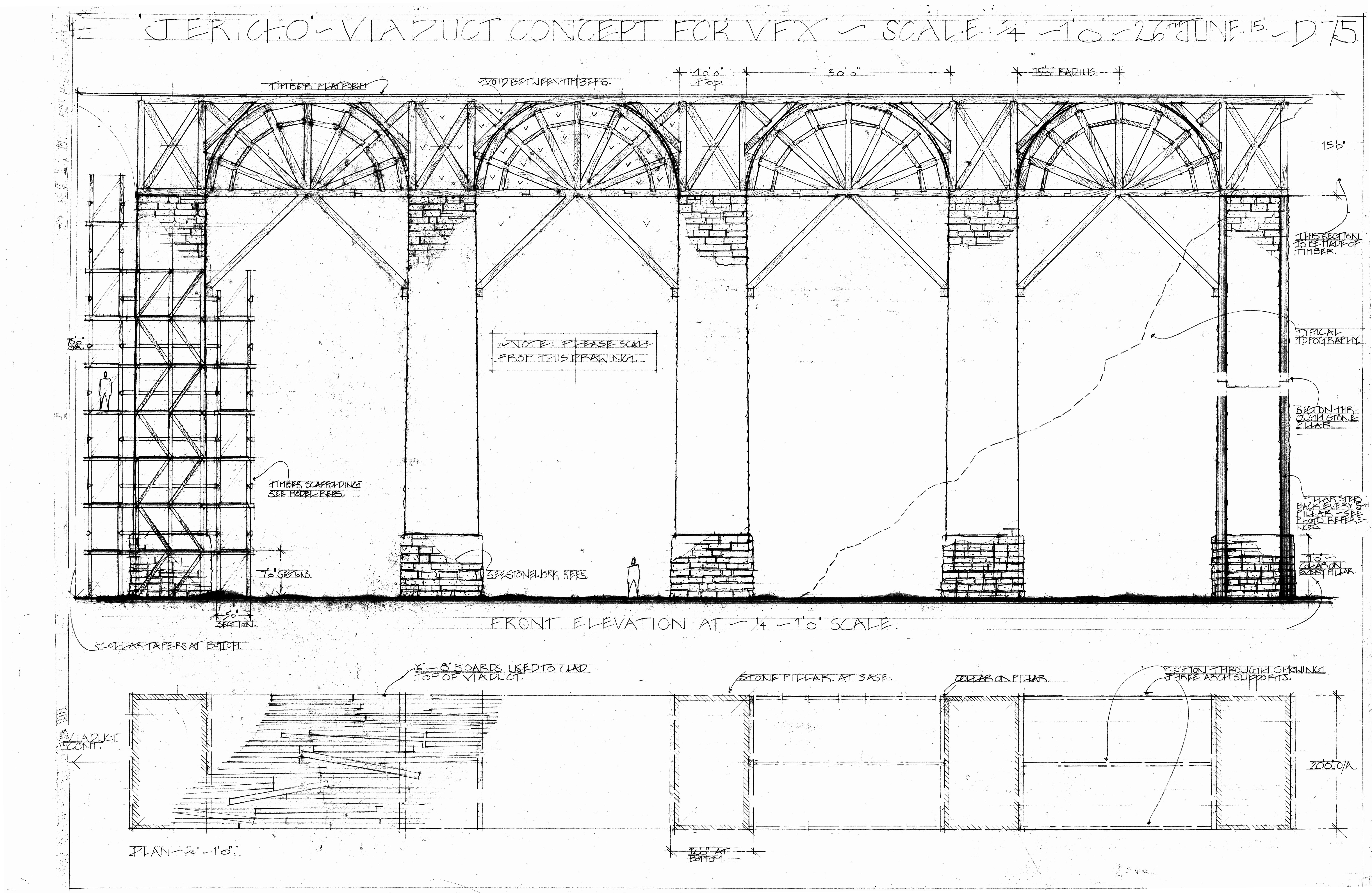 Scaled Viaduct for VFX
