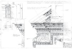 Broken Pediment Detail