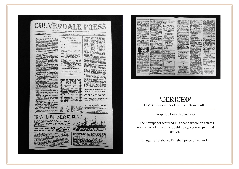 Jericho - Newspaper GFX
