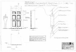 Drawing 27 - Blackwood House Door