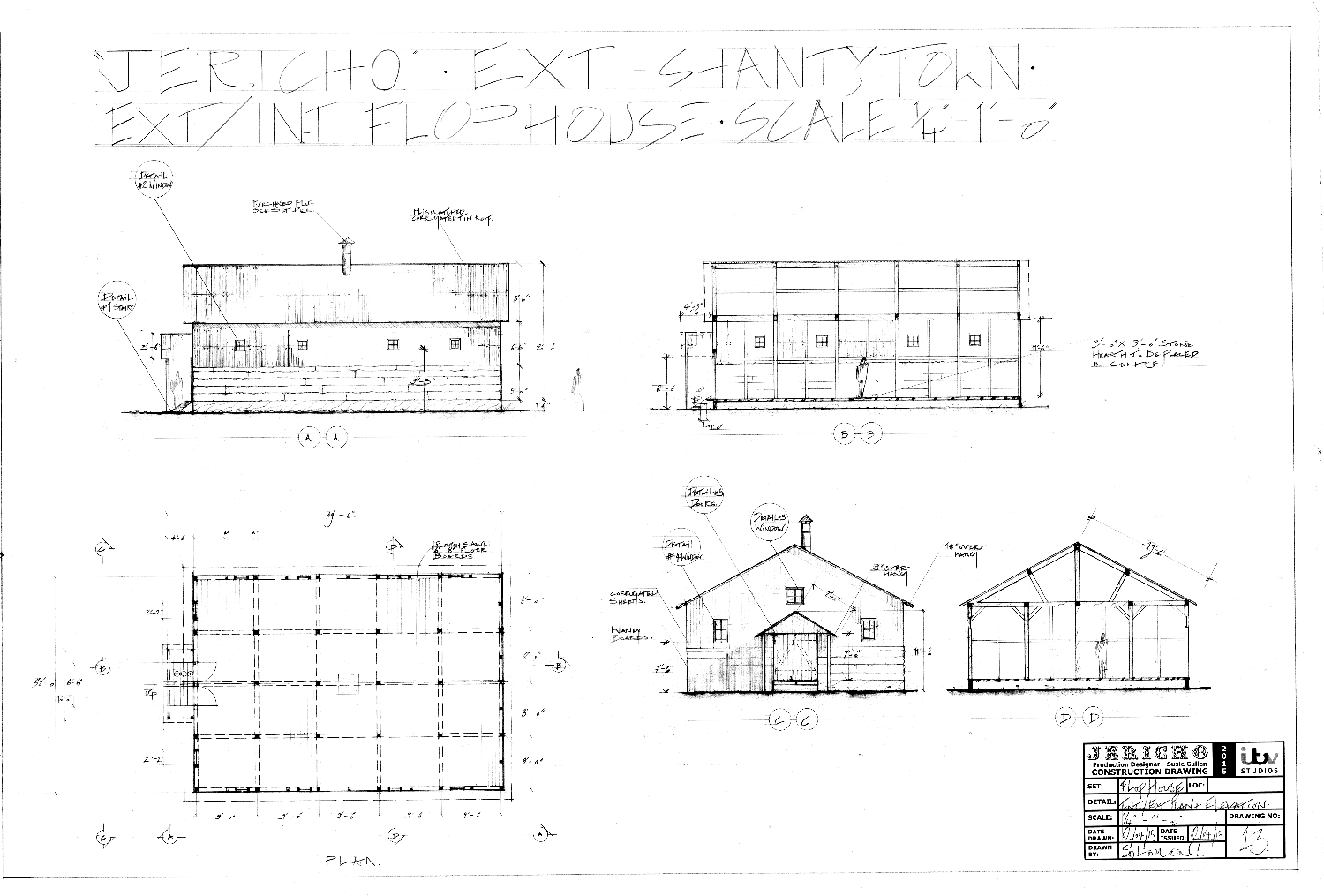 Drawing 15 - Ext_Int. Flop House - Plan and Elevations_edited