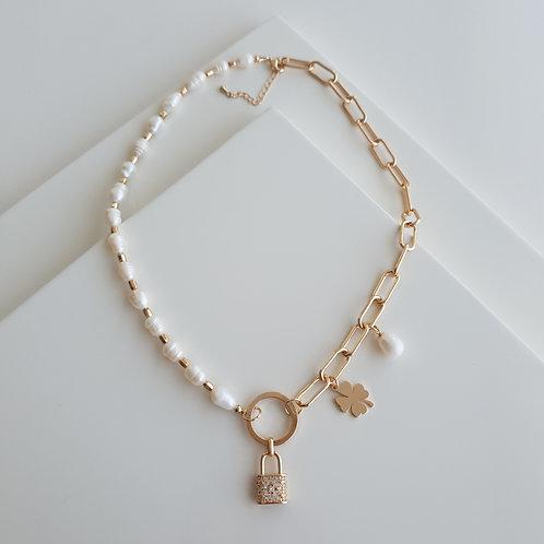 INCI Lock Necklace